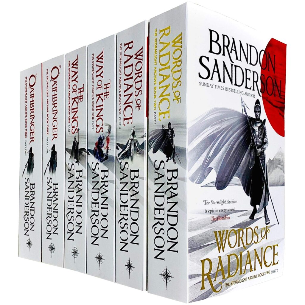 The Stormlight Archive Series by Brandon Sanderson Reading Order