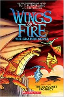 The Dragonet Prophecy Graphic Novel - Wings of Fire by Tui T Sutherland reading order