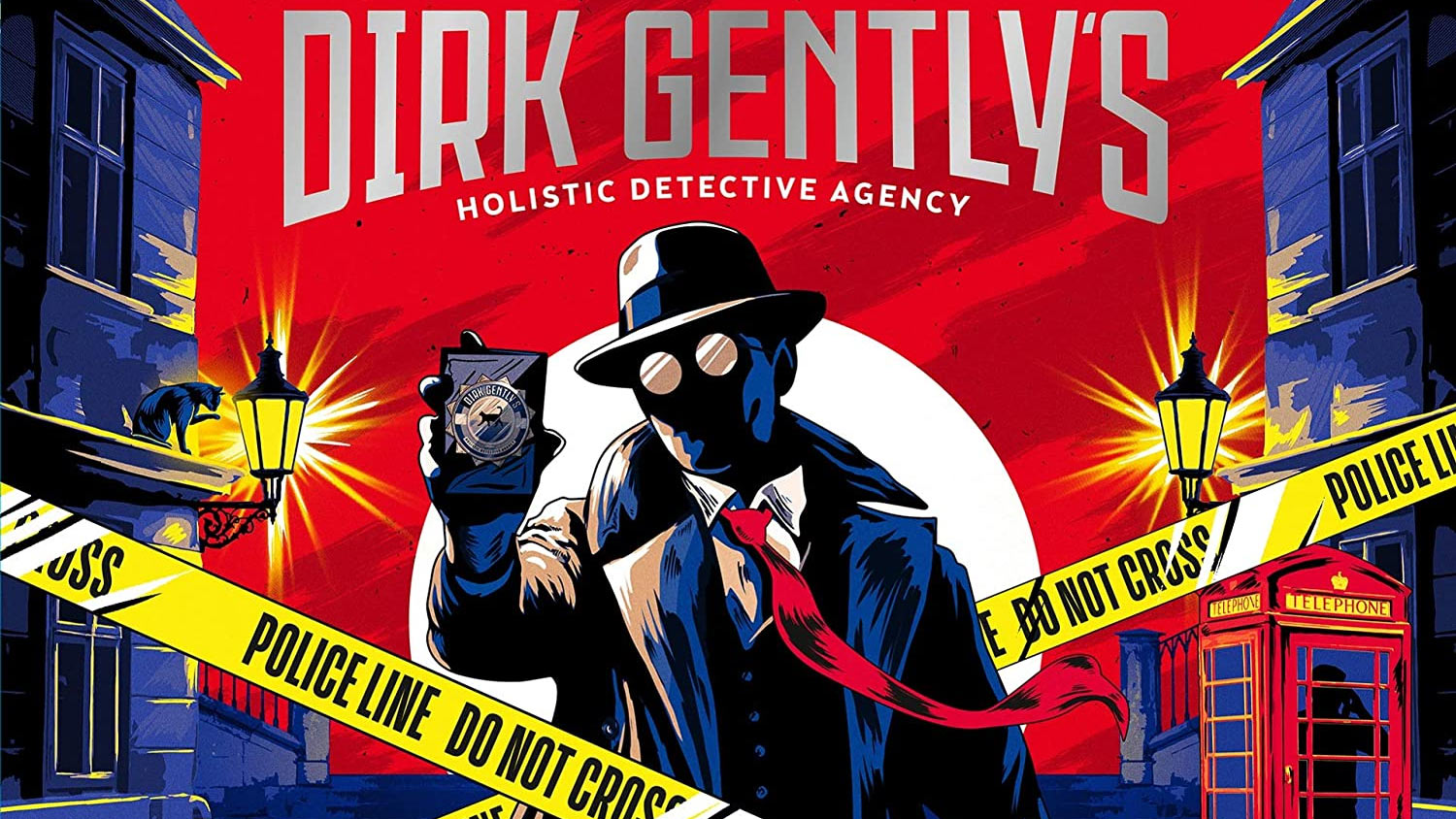 Cover for Radio Drama of Dirk Gently